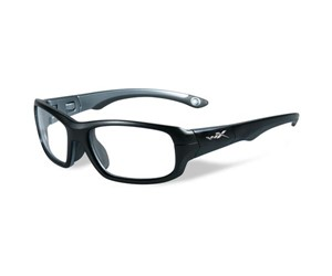 Wiley X Youth Force WX Gamer YFGAM01 Eyeglasses Matte Black/Dark Silver