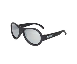 Babiators ACE-001 Sunglasses Black Ops Black Mirrored Lenses
