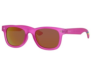 Polaroid Kids PLD 8009/N Sunglasses Polarized Bright Pink-0IMS-AI