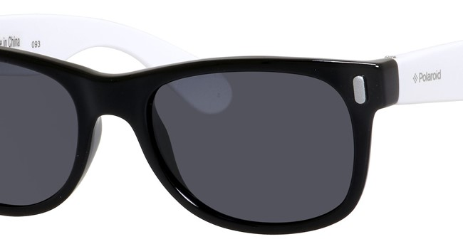Polaroid Kids P 0115/S Sunglasses Polarized Black/White-080S-Y2