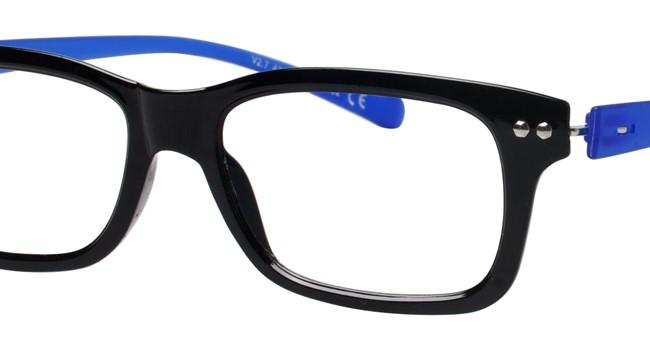 i Green V 2.7-C02 Eyeglasses Shiny Black/Matt Royal Blue