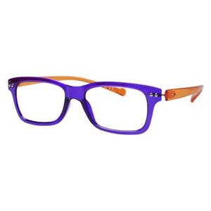 iGreen V2.7-C14 Kids Eyeglasses Shiny Violet/Shiny Orange