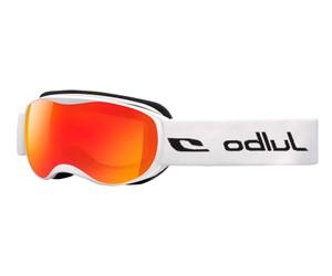 Julbo J73812114 Eyeglasses Atmo Ski Goggle Kids White/Orange