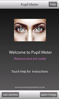 Measuring Pupillary Distance