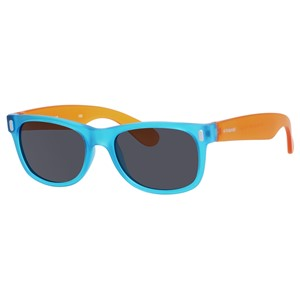 Polaroid Kids P 0115/S Sunglasses Polarized Blue/Orange-089T-Y2