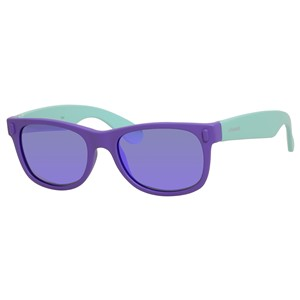 Polaroid Kids P 0115/S Sunglasses Polarized Violet/Turquoise-0RHD-MF