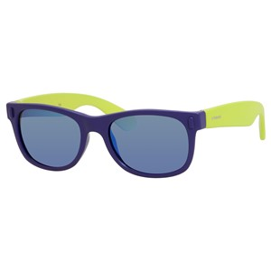 Polaroid Kids P 0115/S Sunglasses Polarized Blue/Lime-0UDF-JY