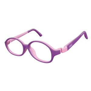Nano NAO511142 Popping Kids Eyeglasses Purple/Violet Eye Size 42-15