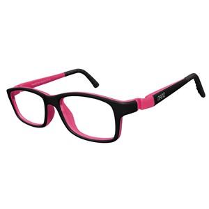 Nano NAO57846 Crew Kids Eyeglasses Black/Fuchsia Eye Size 46-17