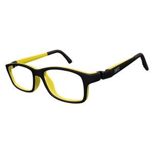 Nano NAO57946 Crew Kids Eyeglasses Matt Black/Amarillo Eye Size 46-17
