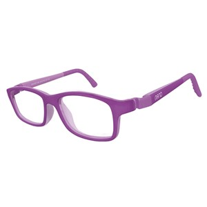 Nano NAO571046 Crew Kids Eyeglasses Matt Purple/Purple Eye Size 46-17
