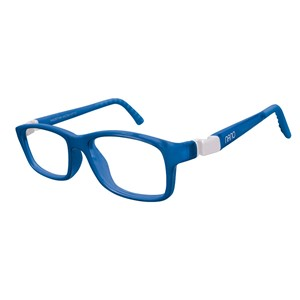 Nano NAO57746 Crew Kids Eyeglasses Blue Marin/White Eye Size 46-17