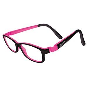 Nano NAO50312 Game-Over Kids Eyeglasses Black/Fuchsia Eye Size 48-17