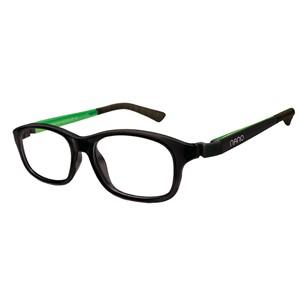 Nano NAO521248 Arcade Kids Eyeglasses Matt Black/Green Eye Size 48-17