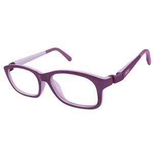 Nano NAO521048 Arcade Kids Eyeglasses Matt Purple/Violet Eye Size 48-17