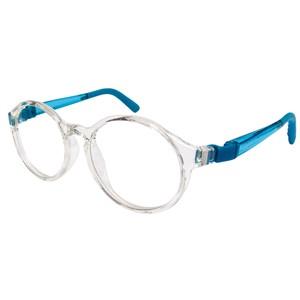 Nano NAO600744 Breakout Kids Eyeglasses Crystal/Blue Eye Size 44-16
