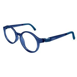 Nano NAO600244 Breakout Kids Eyeglasses Blue Marin/Blue Marin Eye Size 44-16