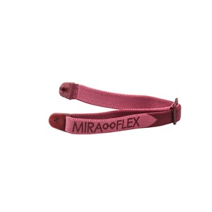 Miraflex Elastic Band  Eyeglasses EBKM Burgundy Metallic