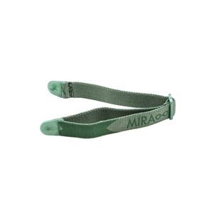 Miraflex Elastic Band  Eyeglasses EBVCP Clear Green Pearl