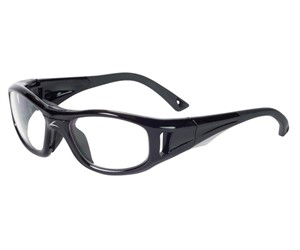 C2 Rx Hilco Leader Sports Safety Glasses 365301000 Black