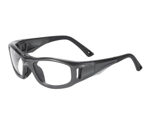 C2 Rx Hilco Leader Sports Safety Glasses 365302000  Gunmetal