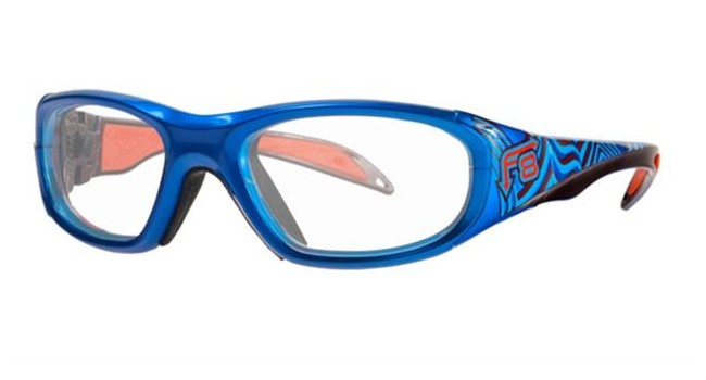 Liberty Sport Rec Specs F8 Street Series Eyeglasses Electric Wave #646
