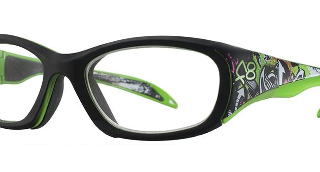 Liberty Sport Rec Specs F8 Street Series Eyeglasses Neon Tag #245