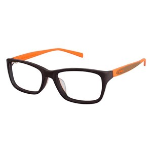Crocs JR031 Kids Eyeglasses Brown/Orange 40OE