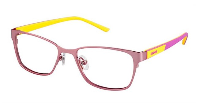 Crocs JR040 Kids Eyeglasses Pink/Yellow 10YW