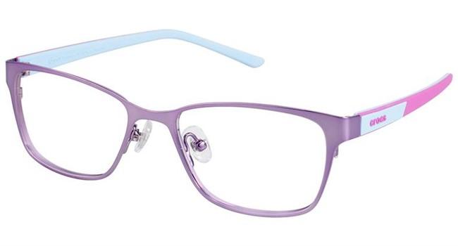 Crocs JR040 Kids Eyeglasses Purple/Pink 35BE