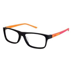 Crocs JR048 Kids Eyeglasses Black/Red 20OE