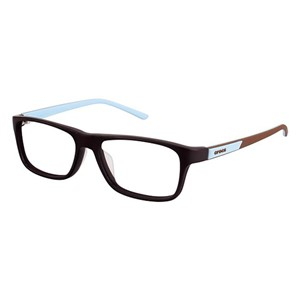 Crocs JR048 Kids Eyeglasses Brown/Blue 40BE