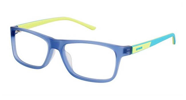 Crocs JR048 Kids Eyeglasses Blue/Yellow 50LE