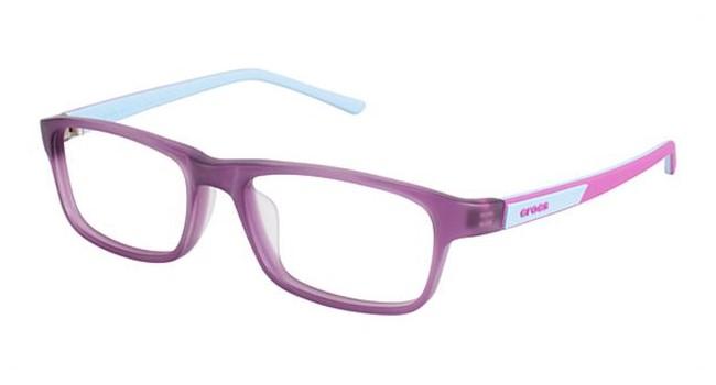 Crocs JR049 Kids Eyeglasses Purple/Blue 35BE