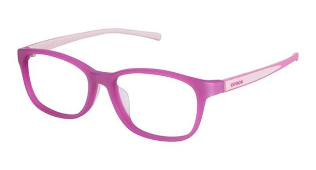 Crocs JR052 Kids Eyeglasses Pink 35VT