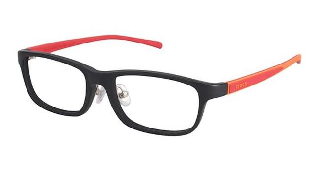 Crocs JR055 Kids Eyeglasses Black/Red 20RD