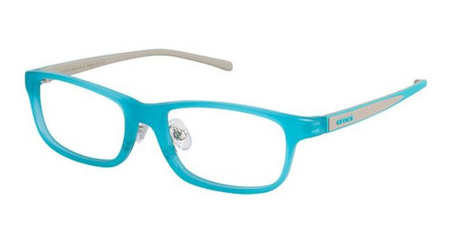 Crocs JR055 Kids Eyeglasses Blue/Grey 50GY