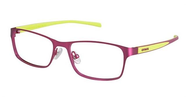 Crocs JR058 Kids Eyeglasses Red/Green 15GN