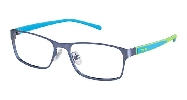 Crocs JR058 Kids Eyeglasses Blue/Green