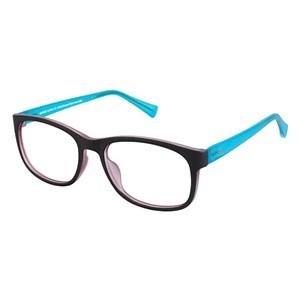Crocs JR6006 Kids Eyeglasses Brown/Turquoise