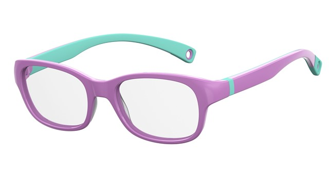 Kids By Safilo Sa0007 Eyeglasses Violet Green 00B2