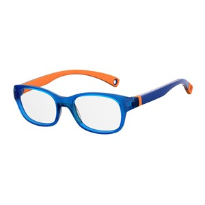 Kids By Safilo Sa0007 Eyeglasses Blue Orange 0LWS