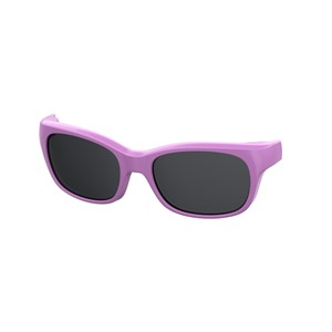 Kids By Safilo Sa0007 Eyeglasses Clip Only Polarized Violet 0B3V