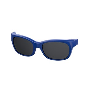 Kids By Safilo Sa0007 Eyeglasses Clip Only Polarized Blue 0PJP