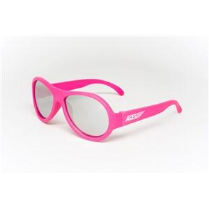 Babiators Aviator ACE-005 Sunglasses Popstar Pink Mirrored Lenses