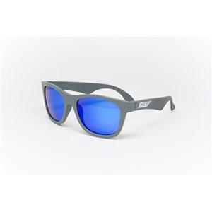 Babiators Navigator ACE-012 Childrens Sunglasses Galactic Gray Blue Lenses