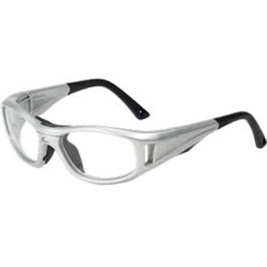 C2 Rx Hilco Leader Sports Saftey Glasses 365308000 Silver