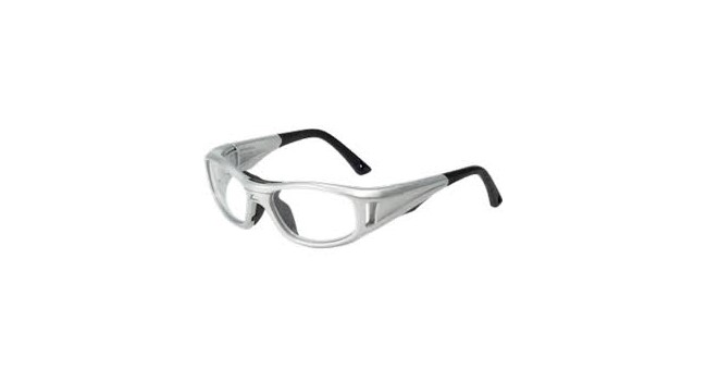 C2 Rx Hilco Leader Sports Saftey Glasses 365308000 Silver