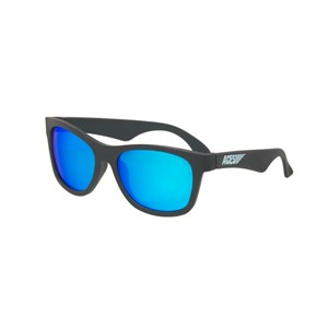Babiators Navigattor ACE-017 Childrens Sunglasses Black Ops Black Blue Lenses